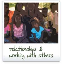 Relationships and working with others